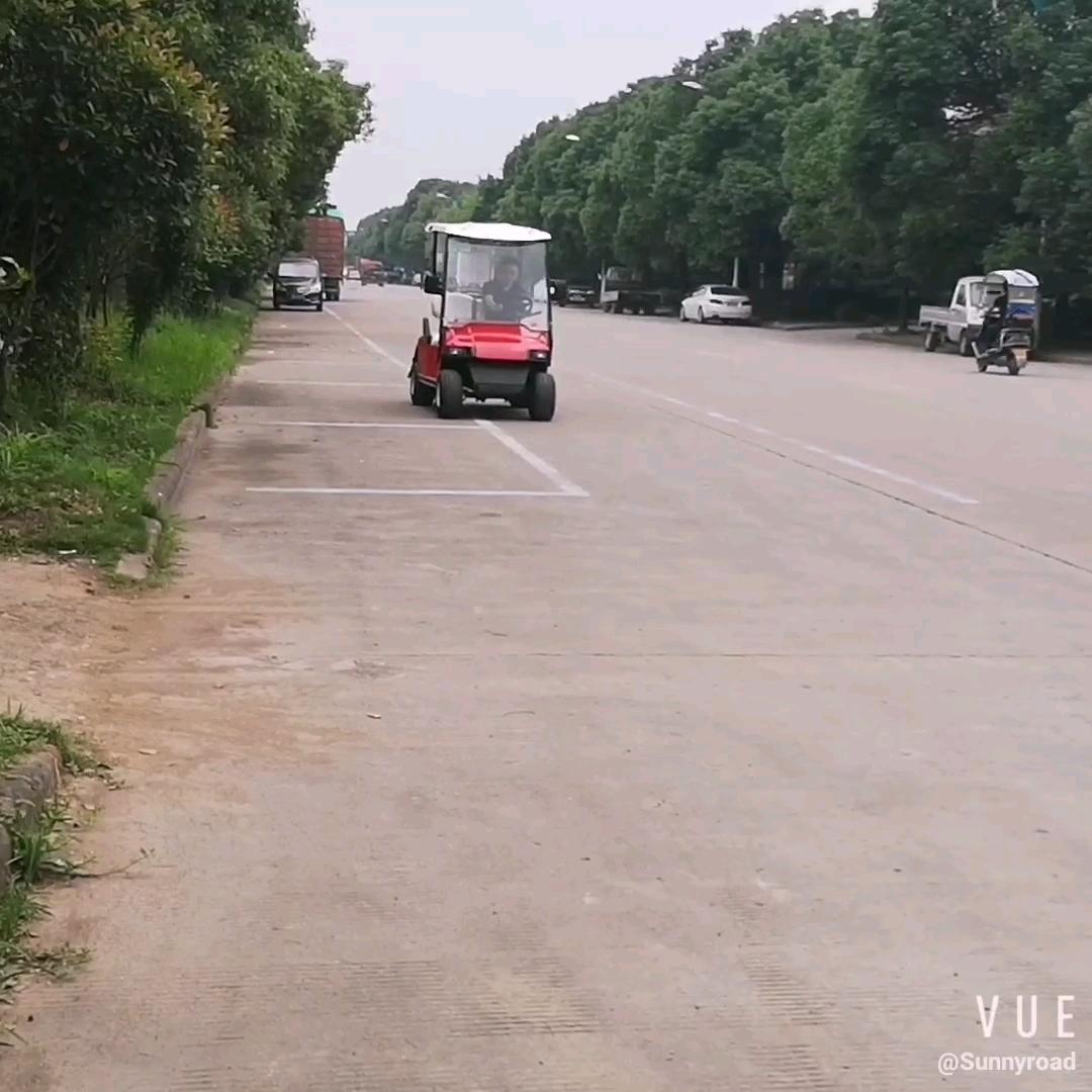 China Sunnyroad golf-club auto 2 sitzer elektrische kleine golf warenkorb