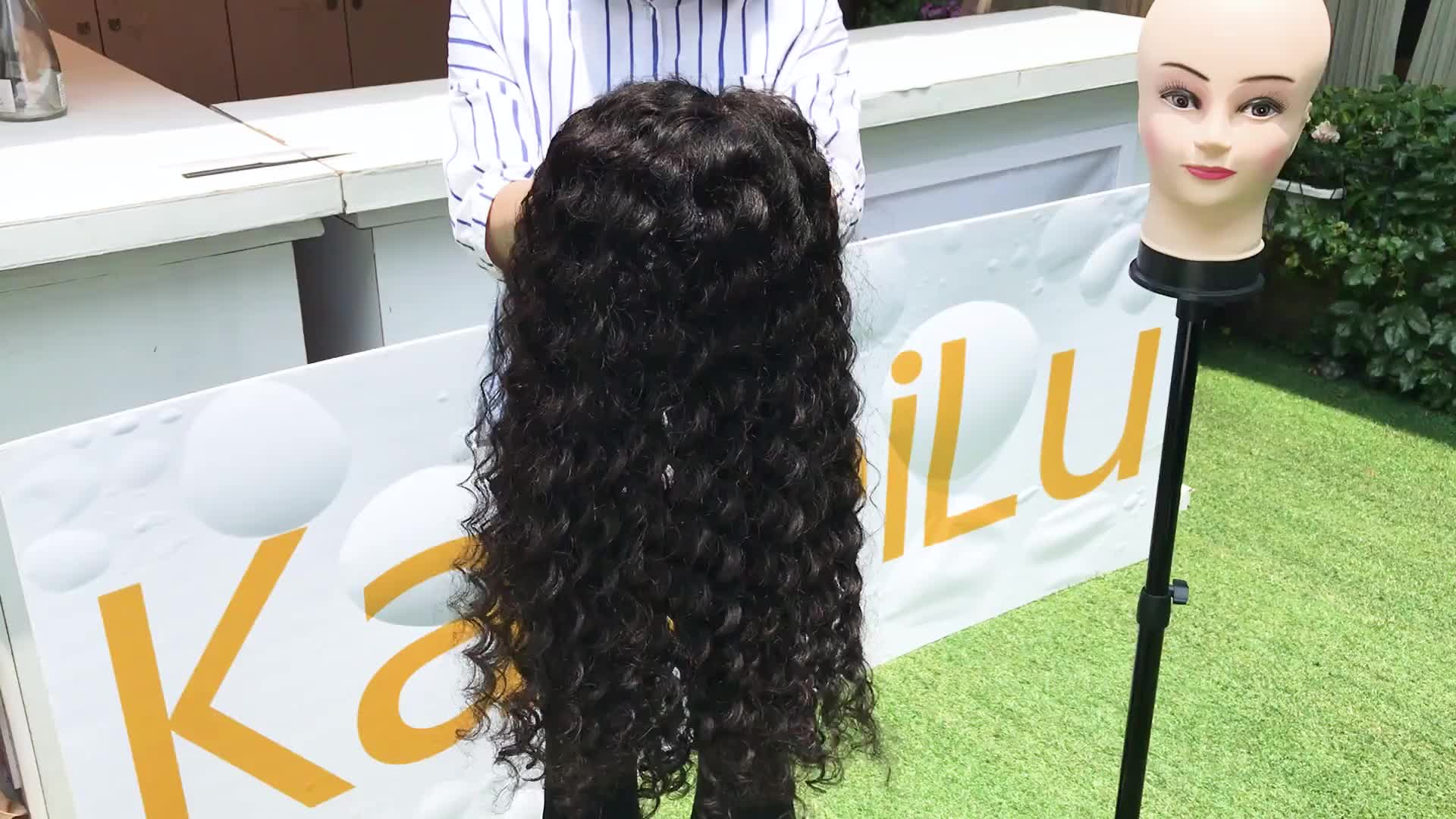 Wholesale full lace human hair wig 24 inches,cheap brazilian short loose curly afro kinky braided human hair wig for black women
