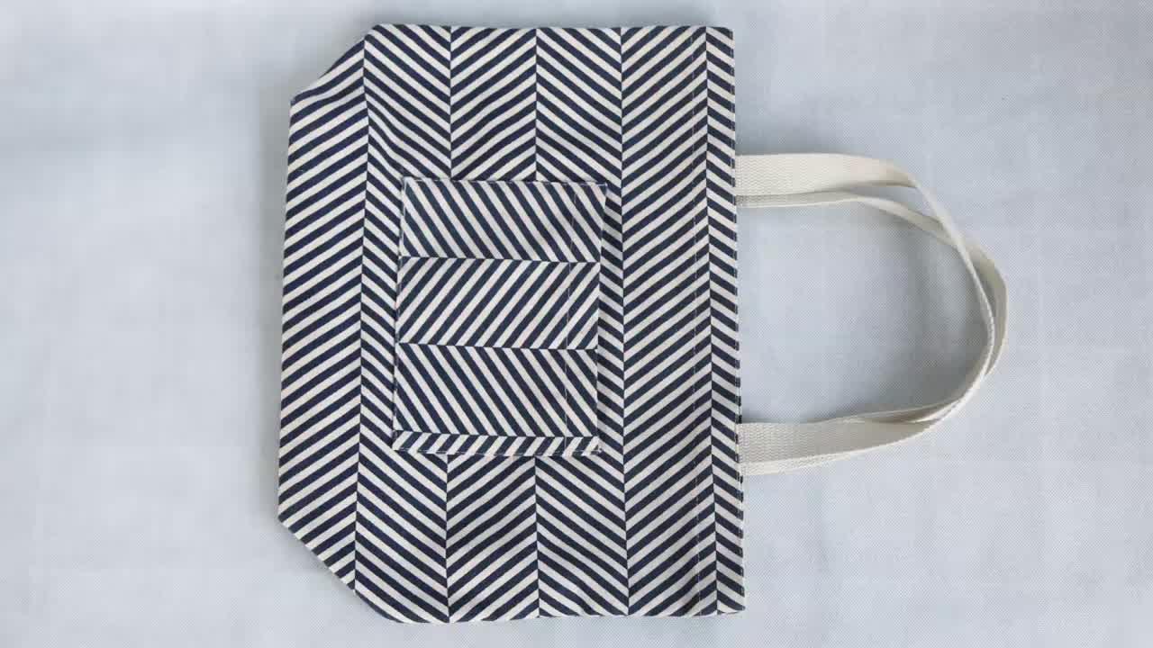 top quality print canvas bags fashion