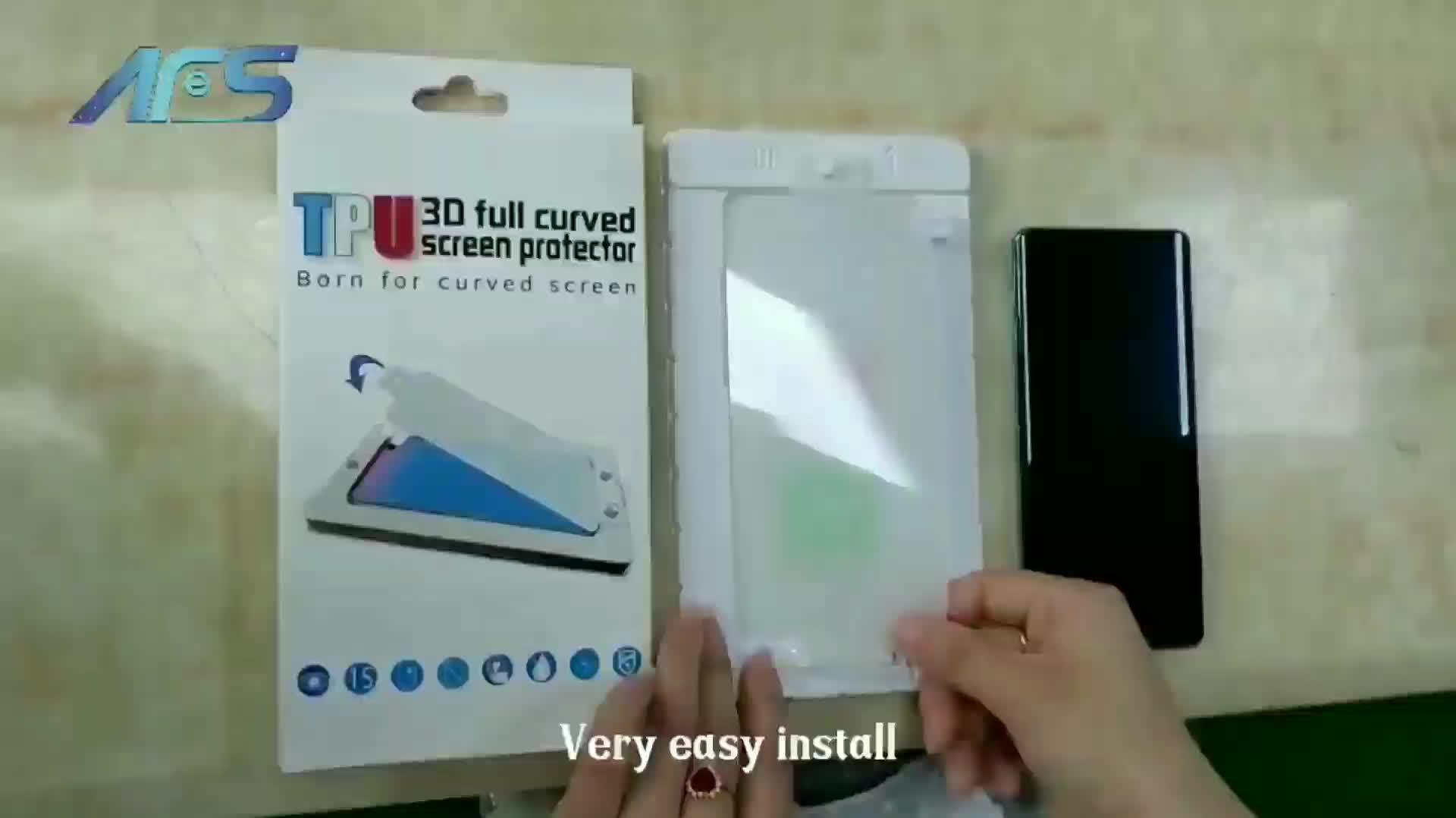 Não vidro HD limpar ultra fina anti scratch tpu tampa traseira protetor de tela nano para Samsung S8 plus