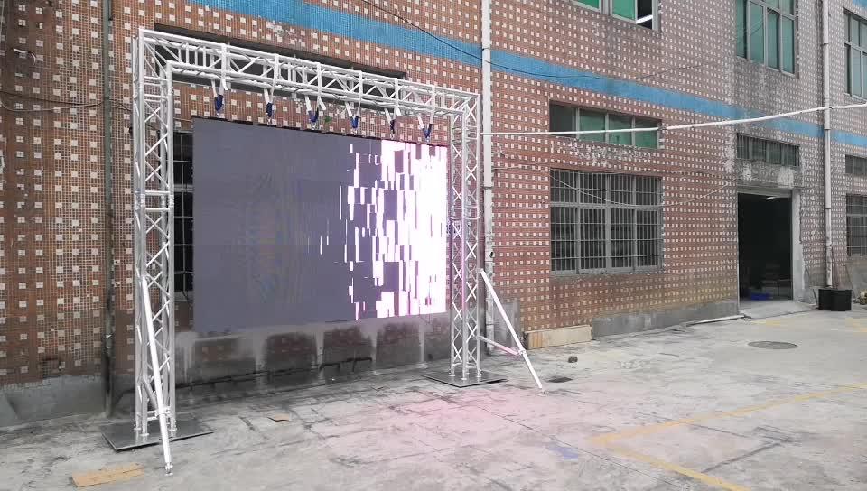 P3.91 Vermietung LED-Display aus China für hochzeit bühnen dekoration