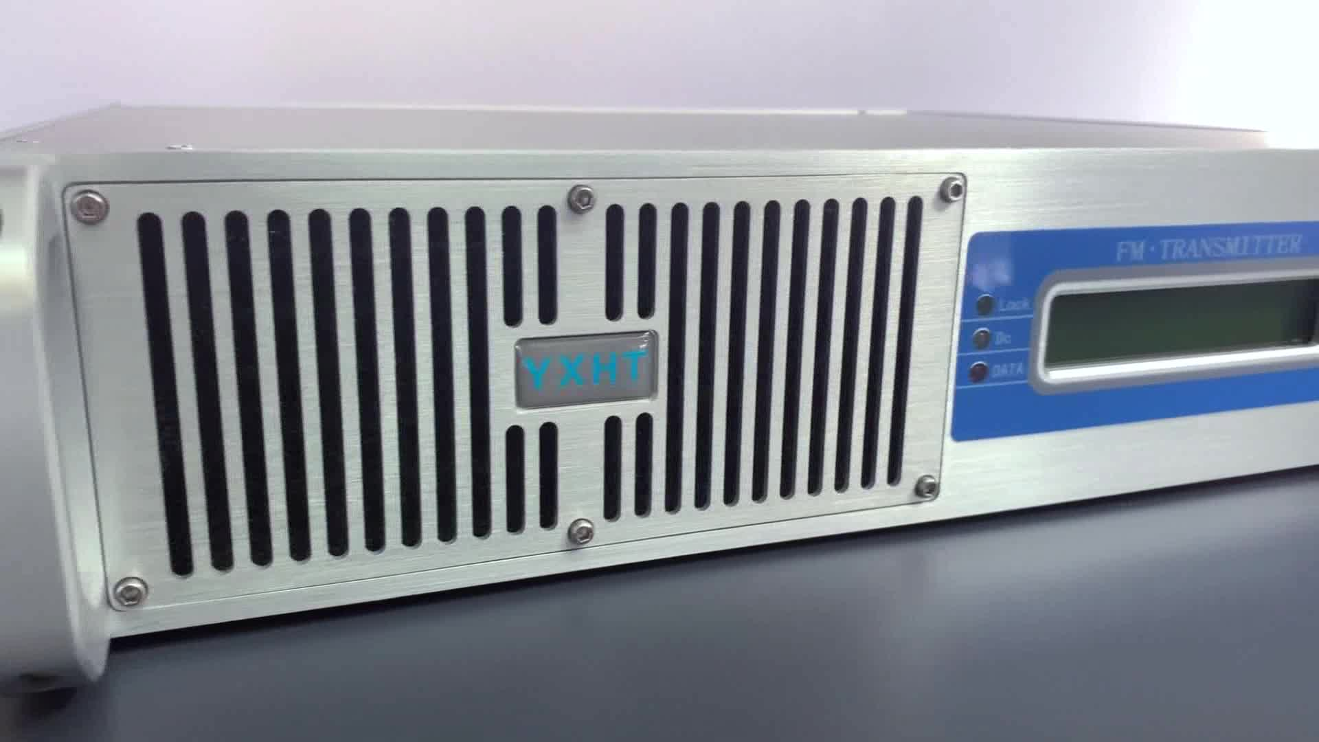 Factory Supply 300W FM Transmitter for broadcast radio station