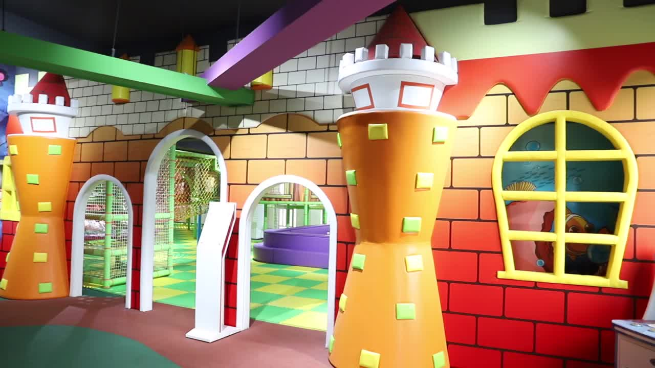 Worldstar best manufacturers commercial candy theme children indoor playground