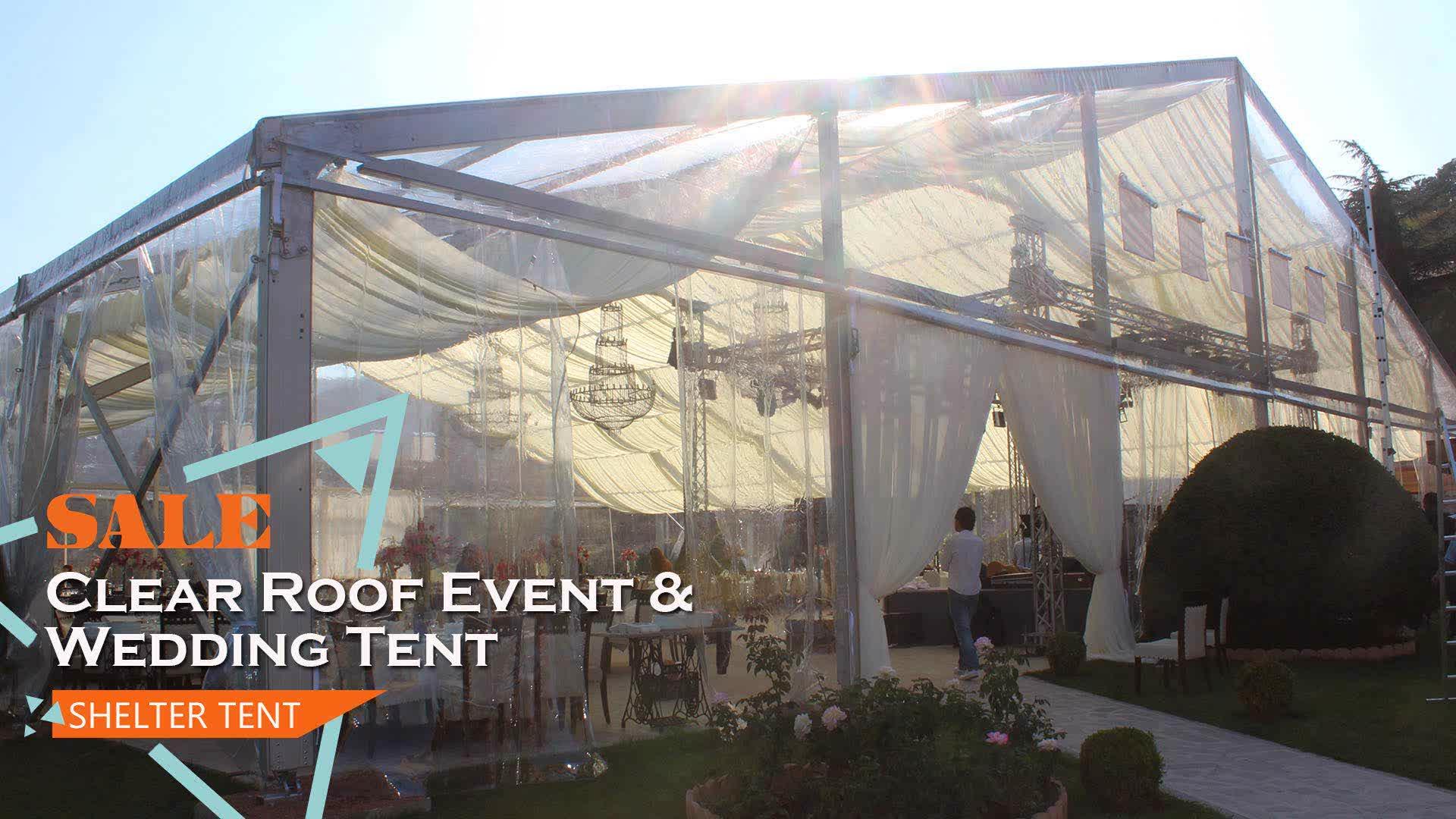 De alta calidad de aluminio transparente boda fiesta eventos para la venta