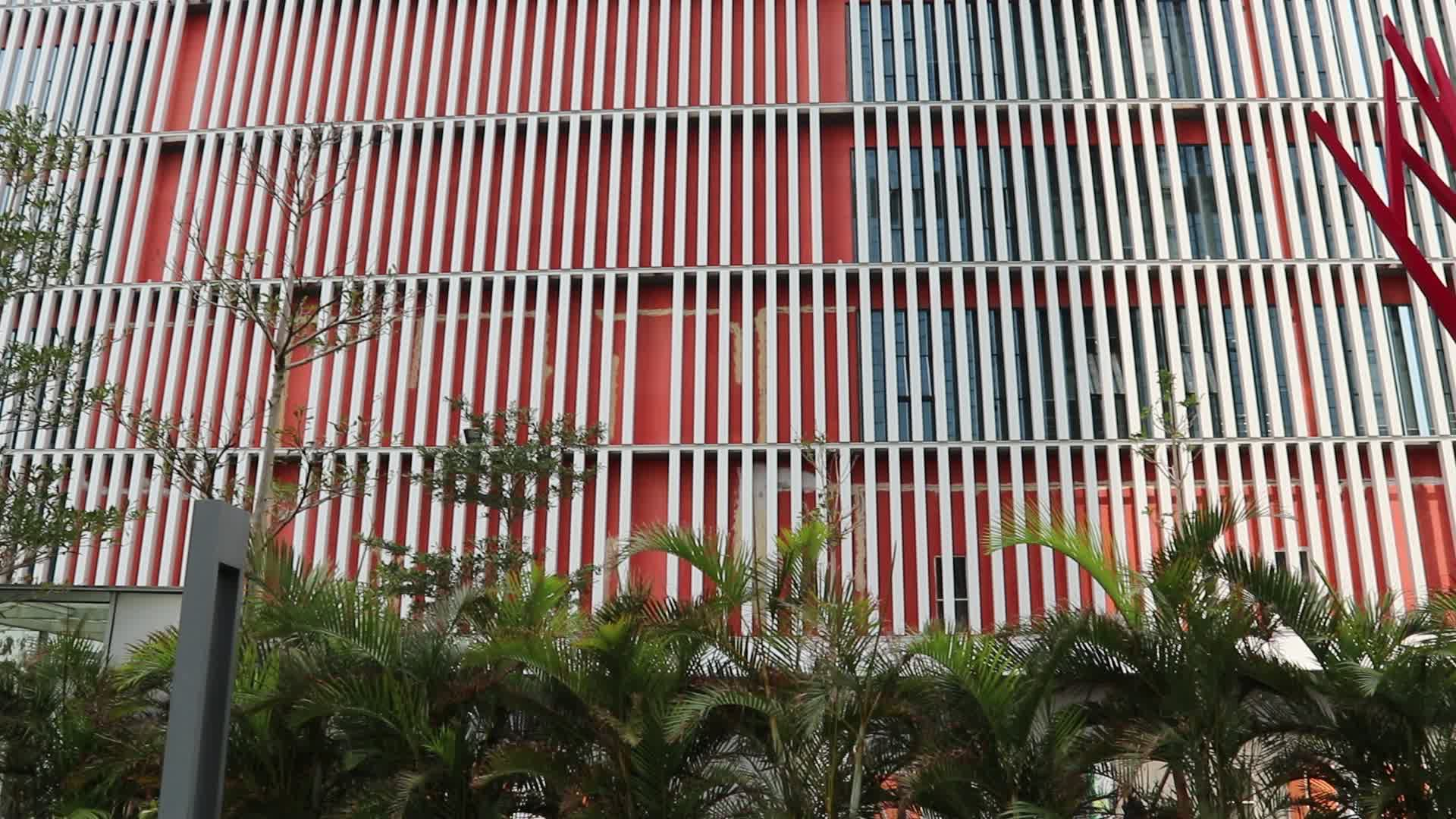 Outdoor Building Materials Sunshade Aluminum Louver Roof Panel