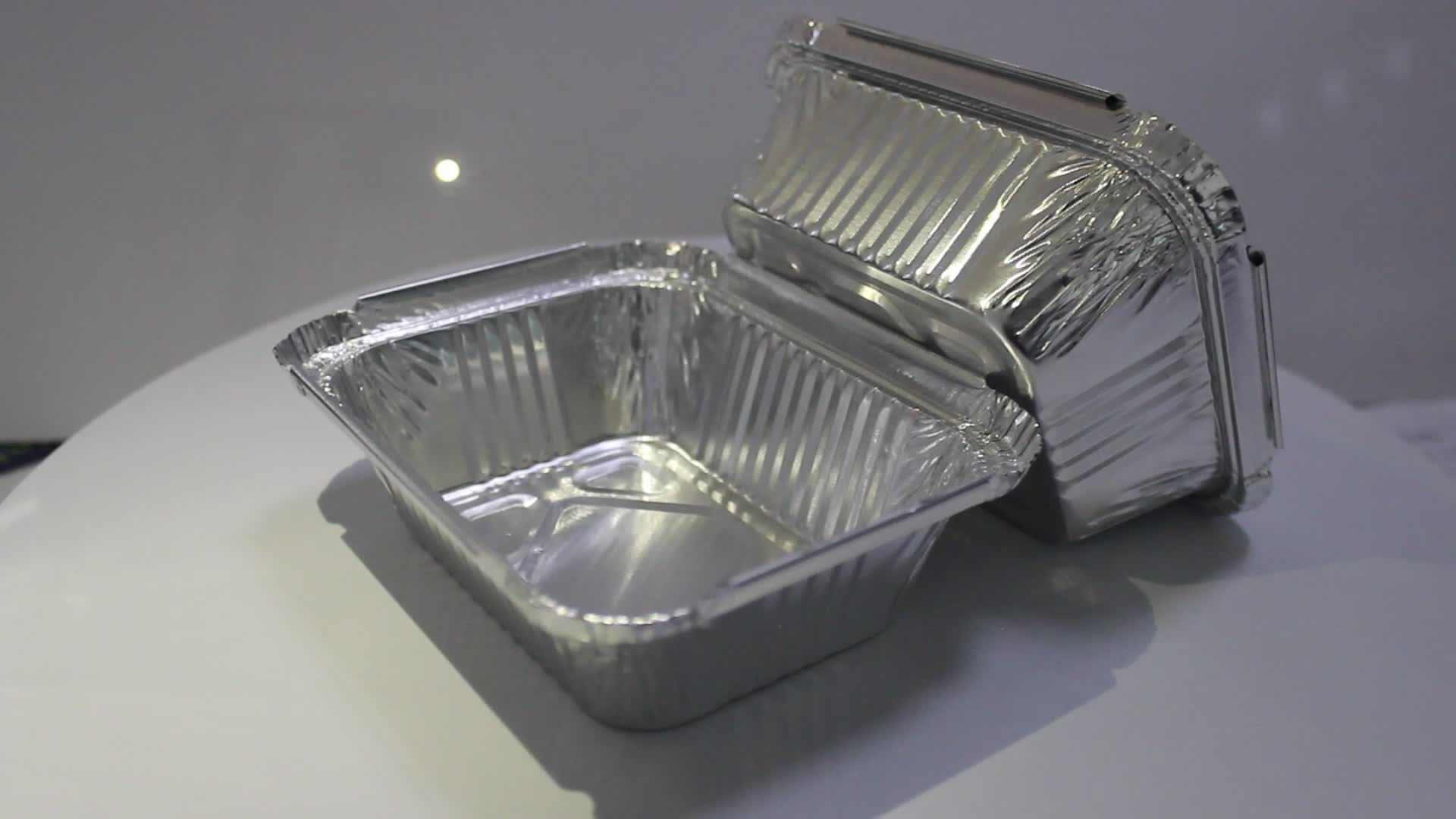 250 мл объем 0.5lb емкость алюминиевая фольга контейнер/вынуть контейнер/алюминиевый одноразовый контейнер пищевой лоток
