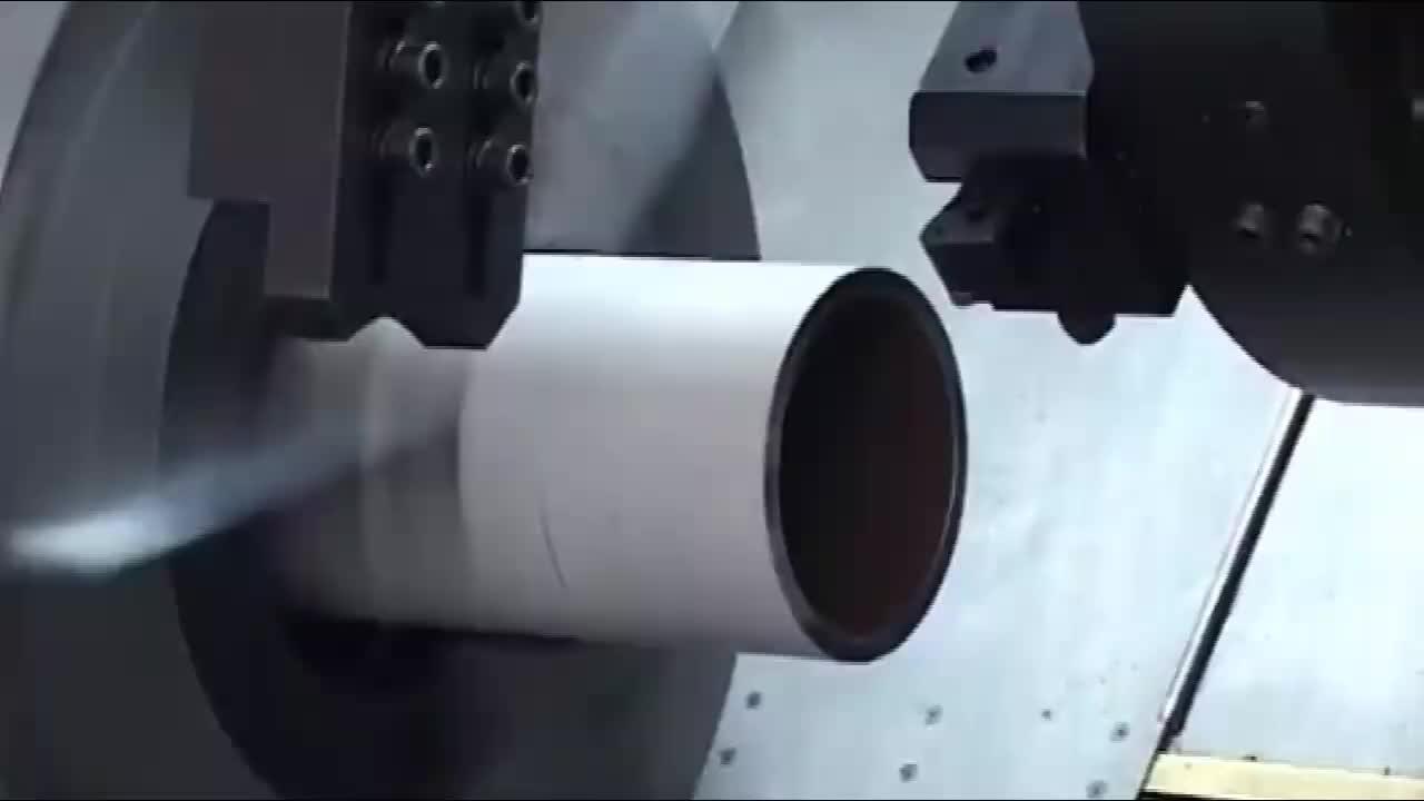 QK1335 Oil Drill Pipe Threading Lathe Machine/CNC automatic thread lathe.