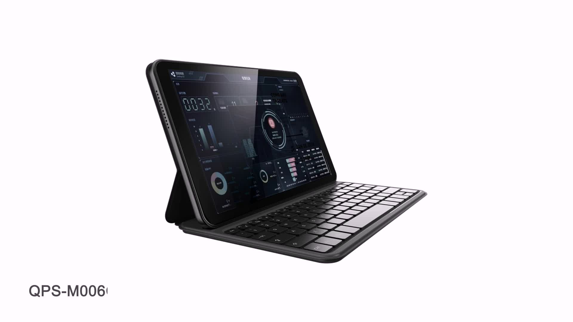 """안드로이드 9.0 10.1 """"용량 성 터치 G + G FHD1920 * 1200 4GB + 64GB 4G 전화 2 SIM 포트 태블릿 키보드와 가죽 케이스"""