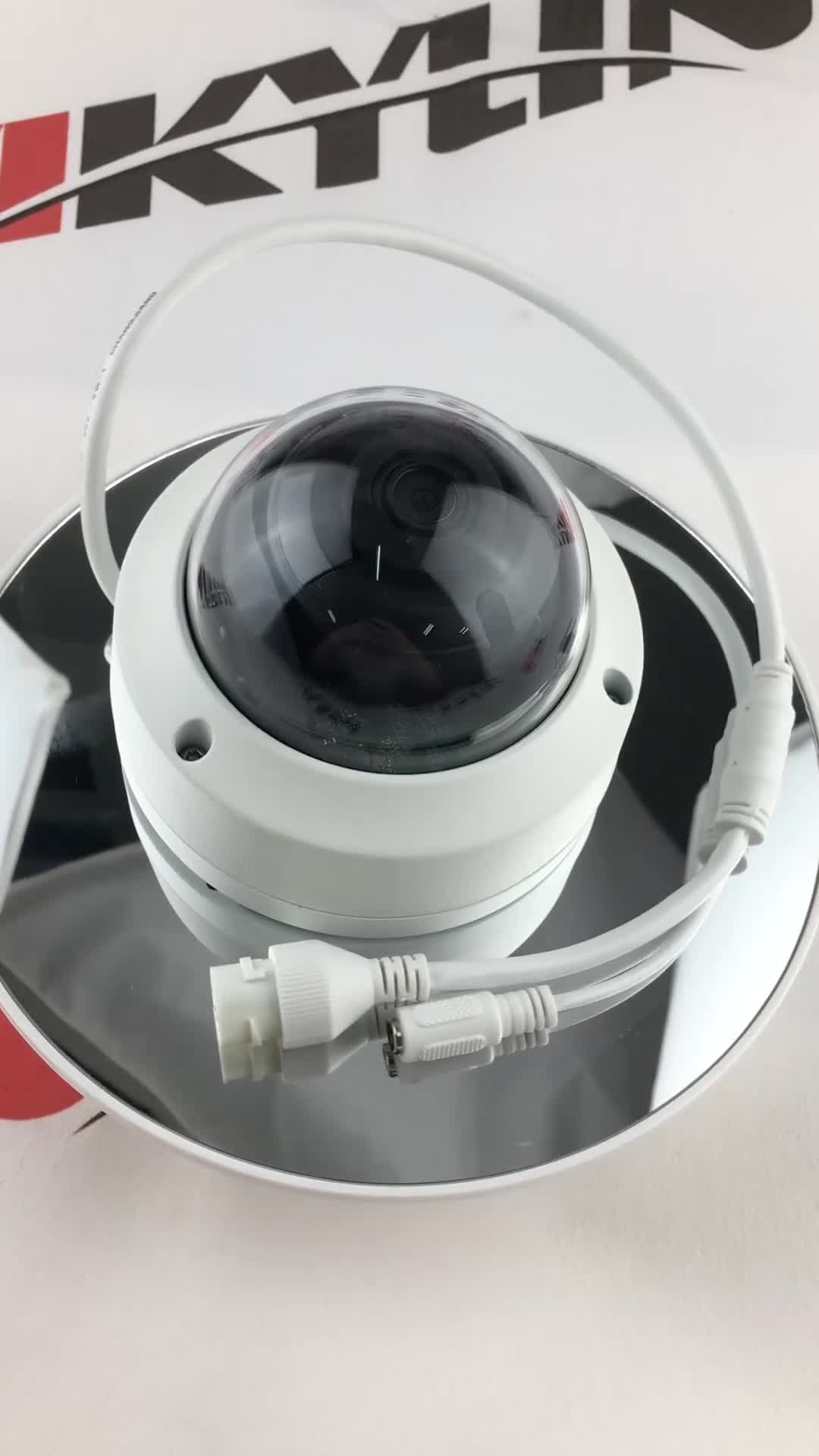 In Stock Original HIK English Version CCTV Security System 8MP IP Dome Camera DS-2CD2185FWD-IS