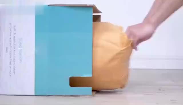 Beste verkauf kühl gel memory schaum bett topper matratze in eine box