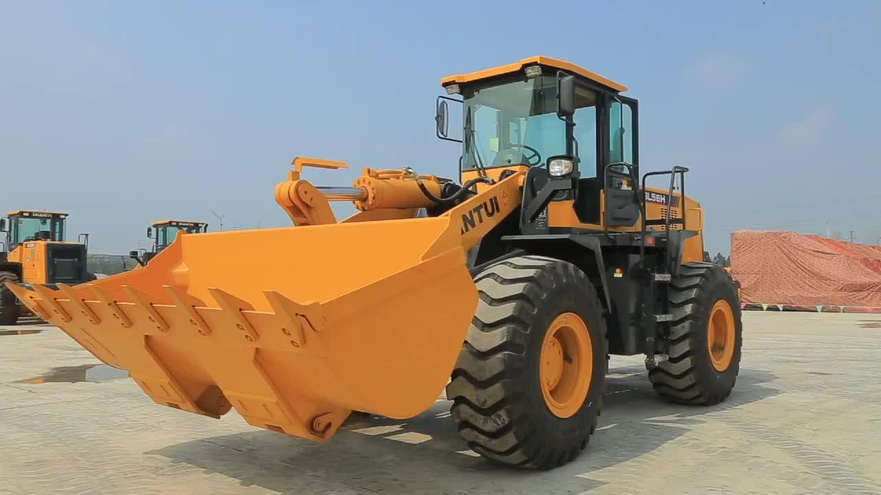 Bucket Capacity 3cbm 3m3 Operating 5000kg SHANTUI 5 ton Wheel Loader SL50W-2