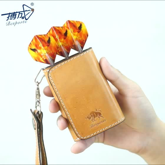 Dart Accessaries, China Factory  Leather Dart Case/Bag