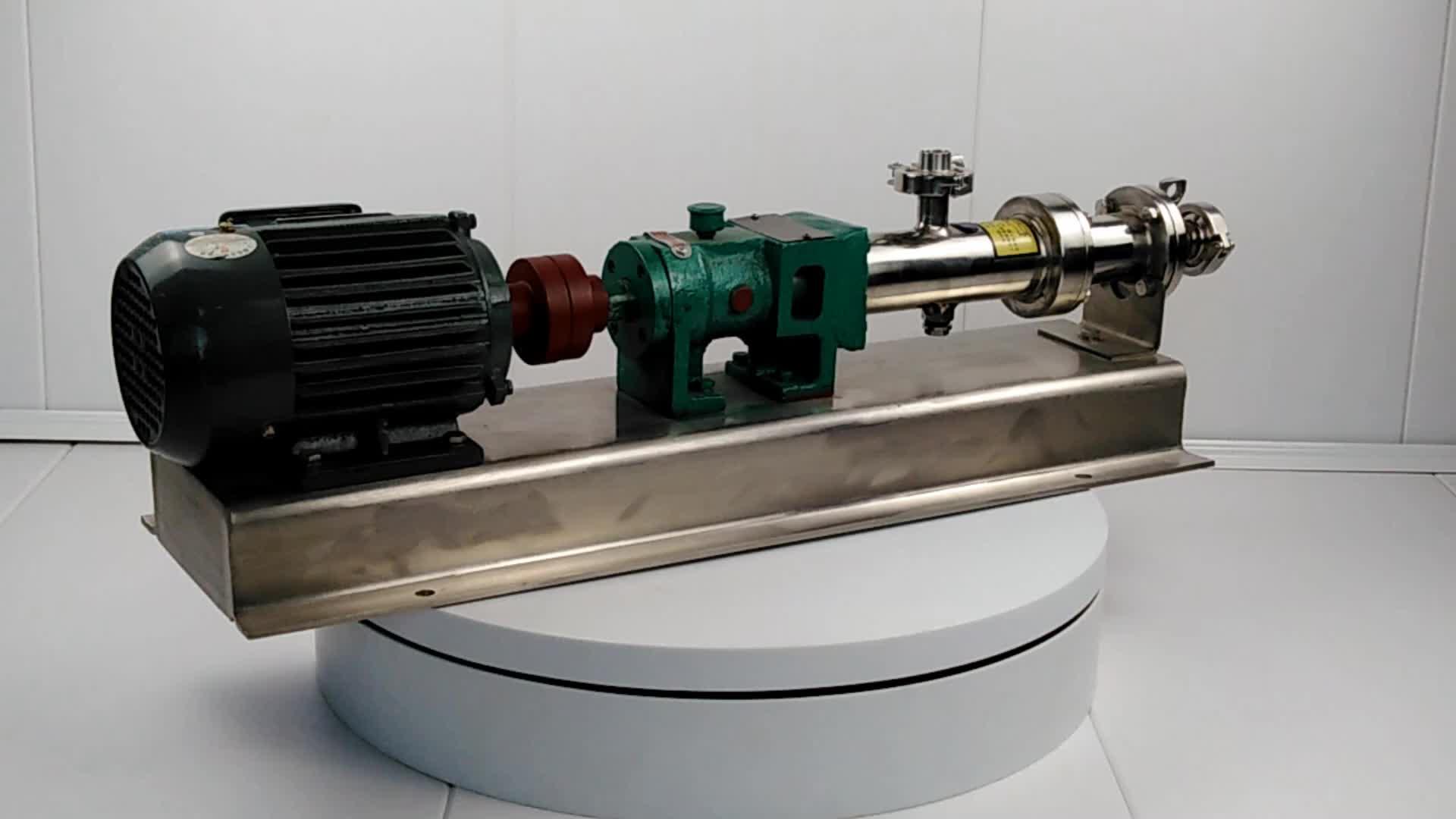 Einzelnen mono mini solar hydraulische schraube pumpe verwendet in feststoffe kontrolle für bohren schlamm