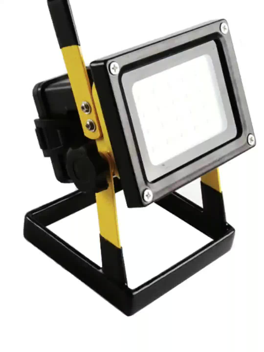 Rechargeable Portable Waterproof Led Flood Lights For Hiking