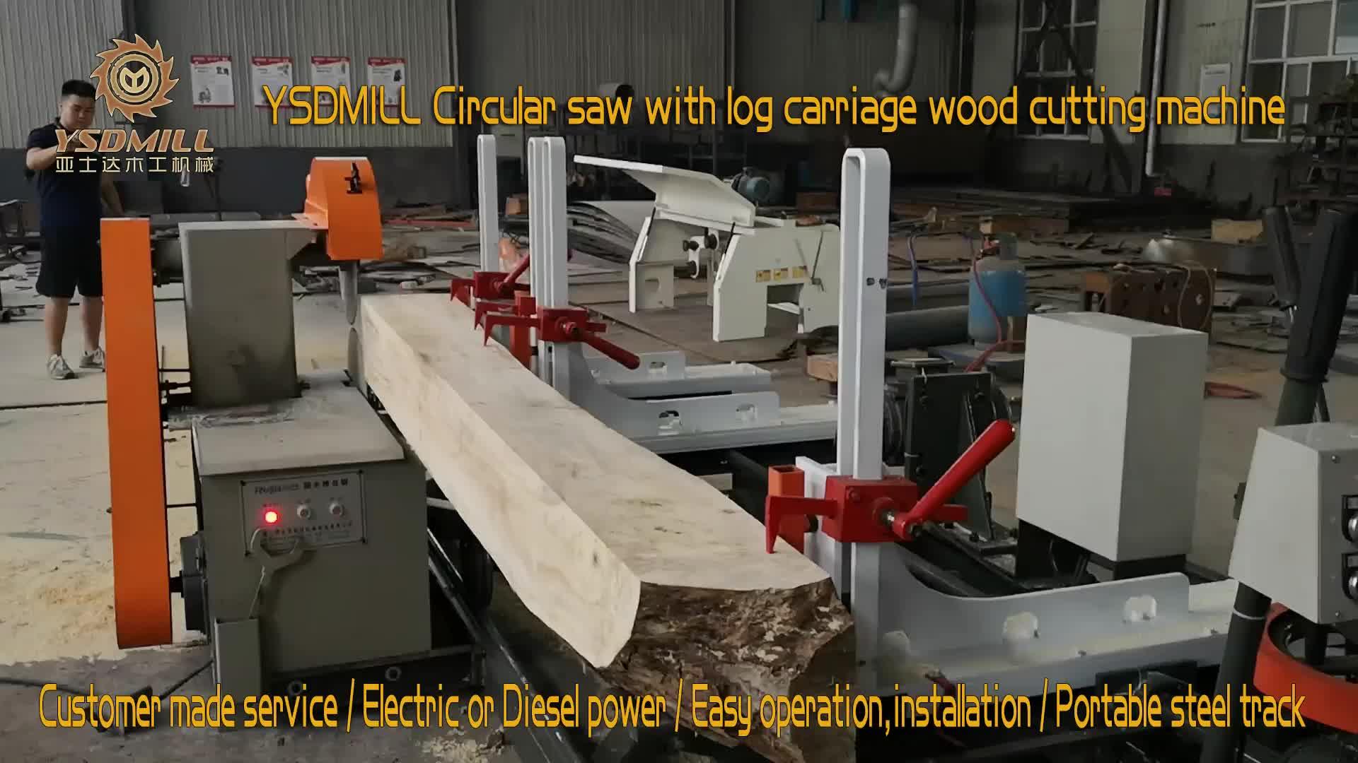 TCT Carbide Circuar blade saw machine for wood cutting