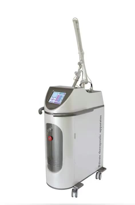 Fractional co2 laser RF tube no need add water vaginal tightening with scaning cutting function