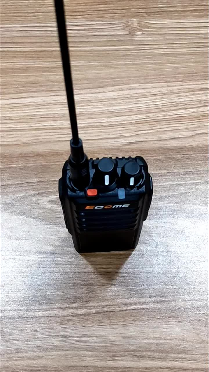 ET-600 interphone walkie talkie profesional noise cancelling two-way radio transmitter