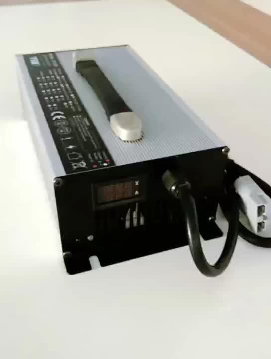 UY1200 Baterai dengan LED Li Ion Charger 48 V 12 S 50.4 V, 13 S 54.6 V atau 14 S 58.8 V 20A