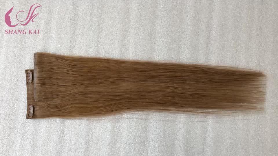 Clip-in di estensione dei capelli senza soluzione di continuità clip in estensioni dei capelli
