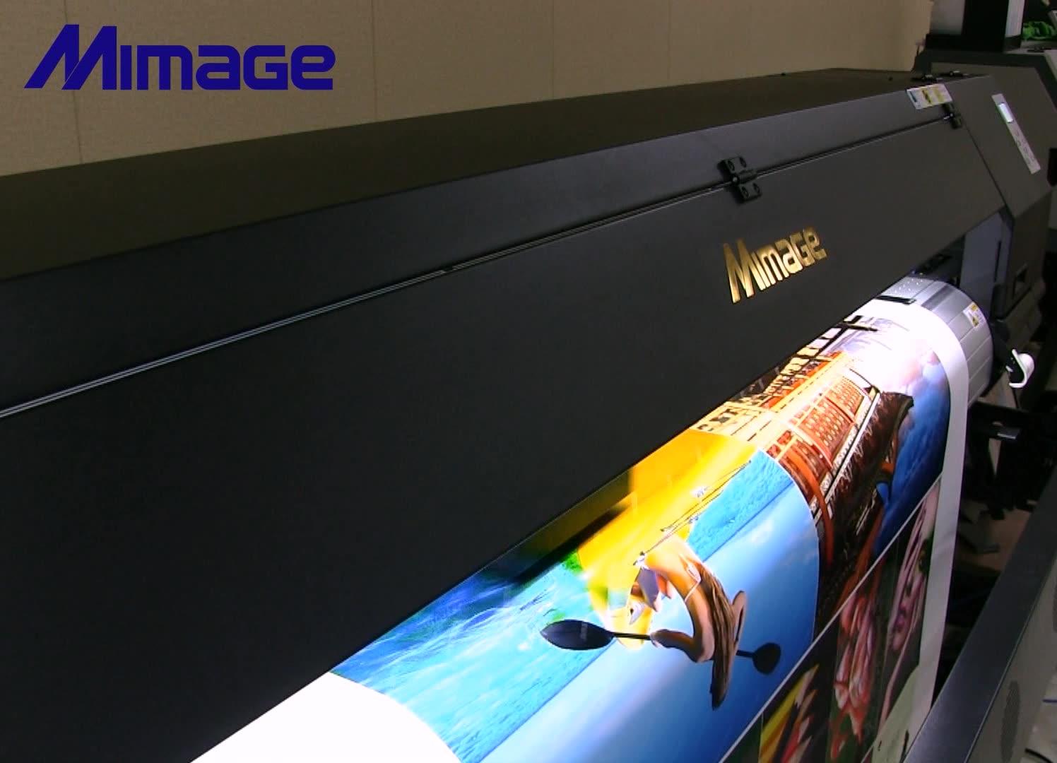 Nieuwe Update Type 1.8M 6ft Grootformaat Eco Solvent Printer En Cutter Printing Machine Prijs