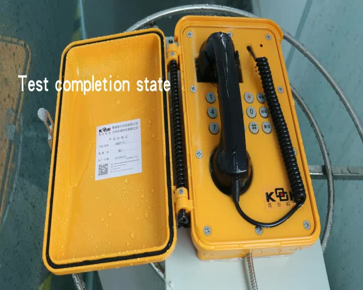 KNTECH KNSP-10 Industrial Telephone, Railway SOS Phone, Waterproof Telephone