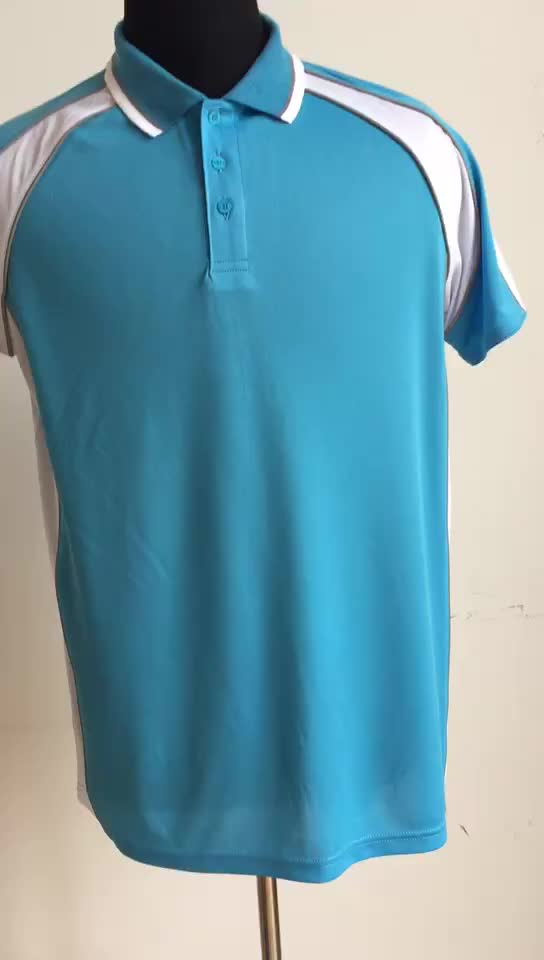 Mens short sleeve polo t shirts with pocket splicing polo contrast color