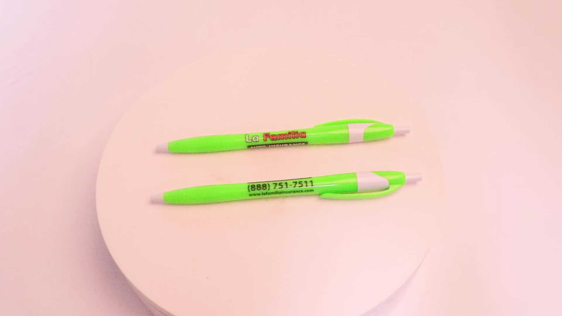 Unionpromo custom logo printed plastic cheap ball pen for promotion