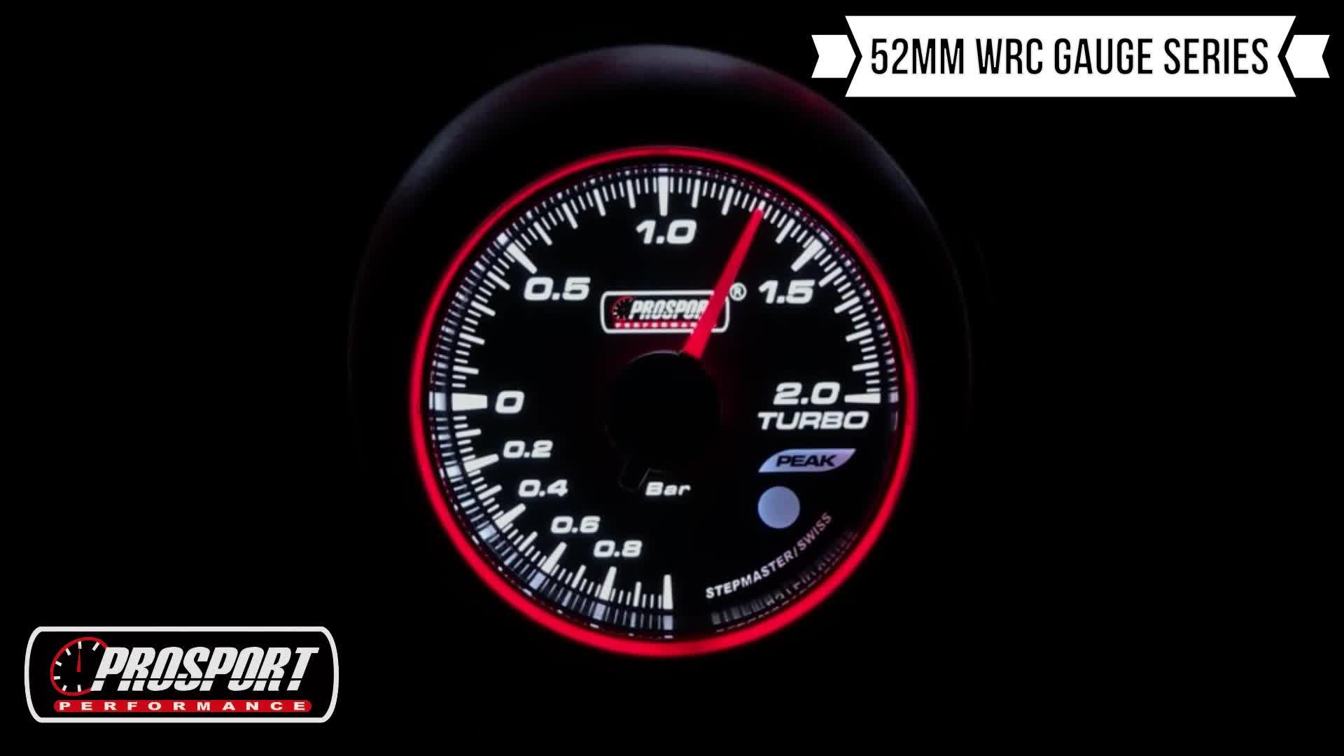 60Mm Prosport Led 8/18V Kim Ba Màu Sắc Xe Volt Meter Đối Với Auto