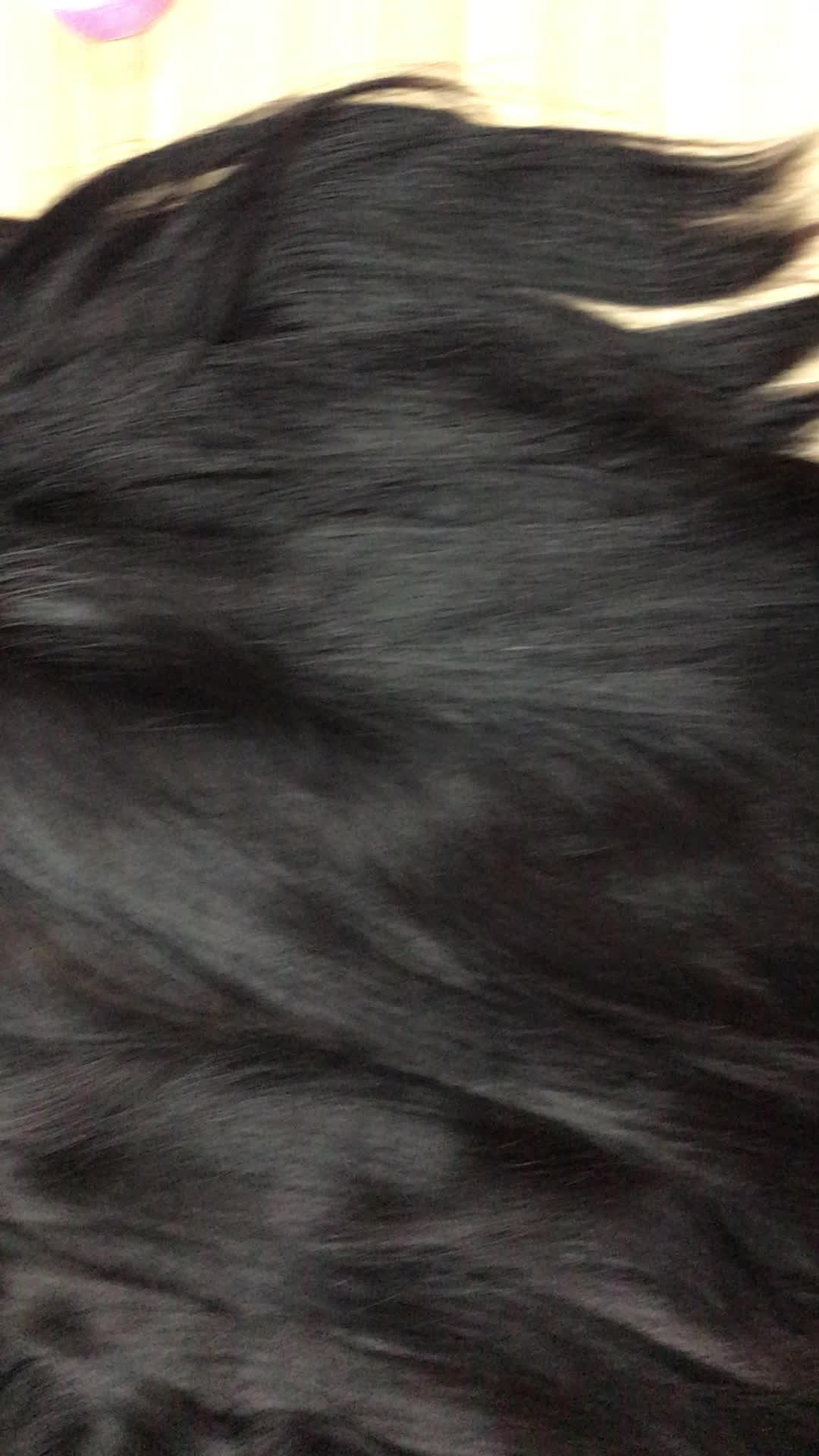 100 Human Raw Unprocessed Virgin Silky Straight Indian -8770