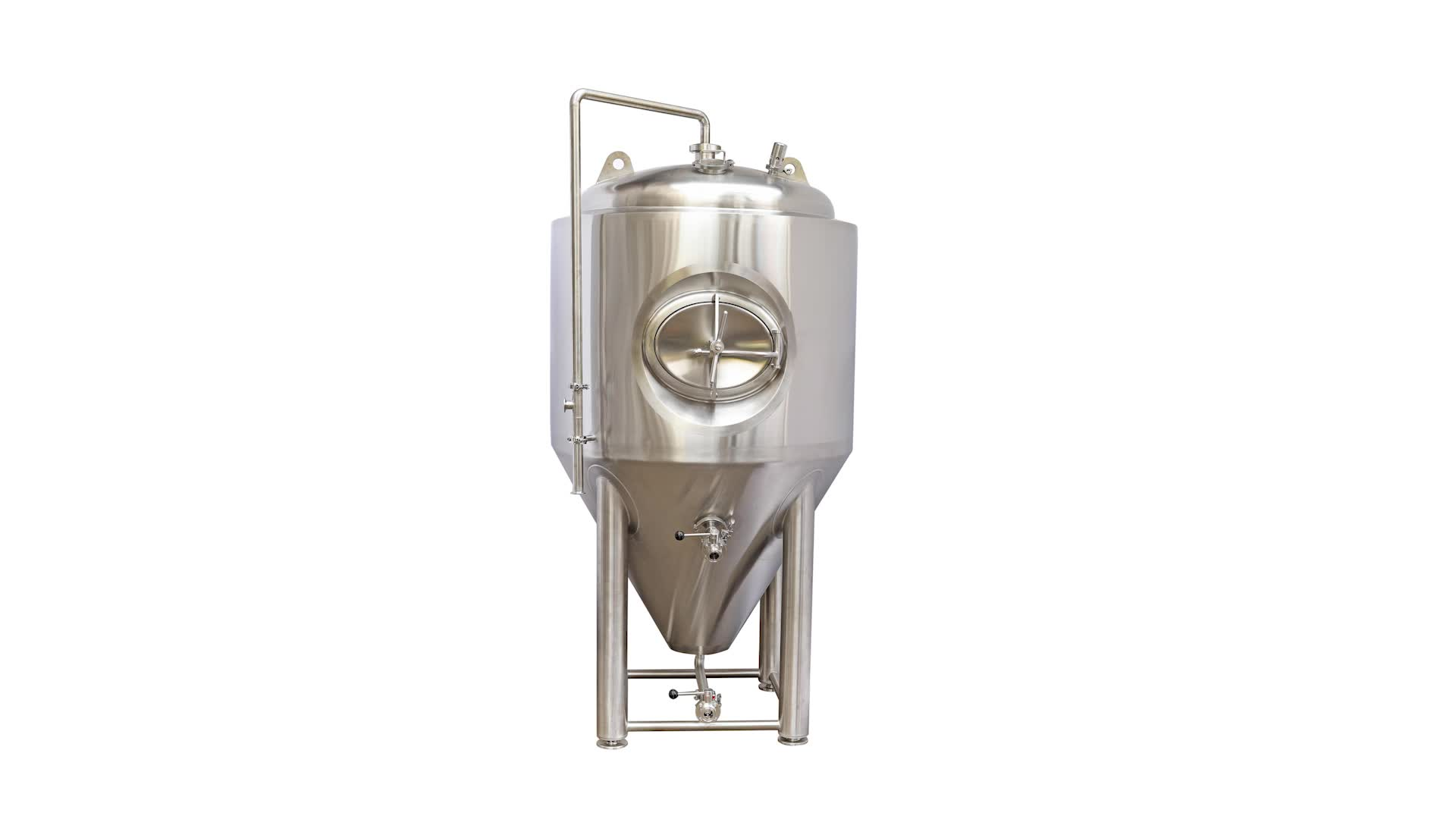 Stainless Steel Jacketed Fermenter Fermentor 300L 500L 1000L Beer Brewing Equipment