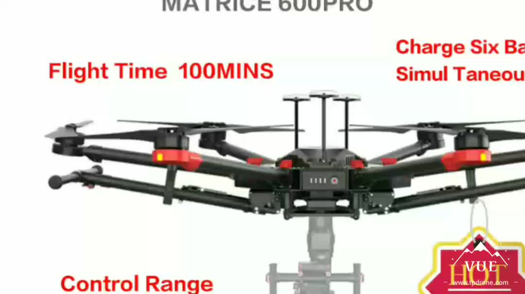 2018 hot sale in stockOriginal Industrial 6kg Max Payload Drone For Zenmuse Camera  Professional M600 PRO Drone six rotor drones