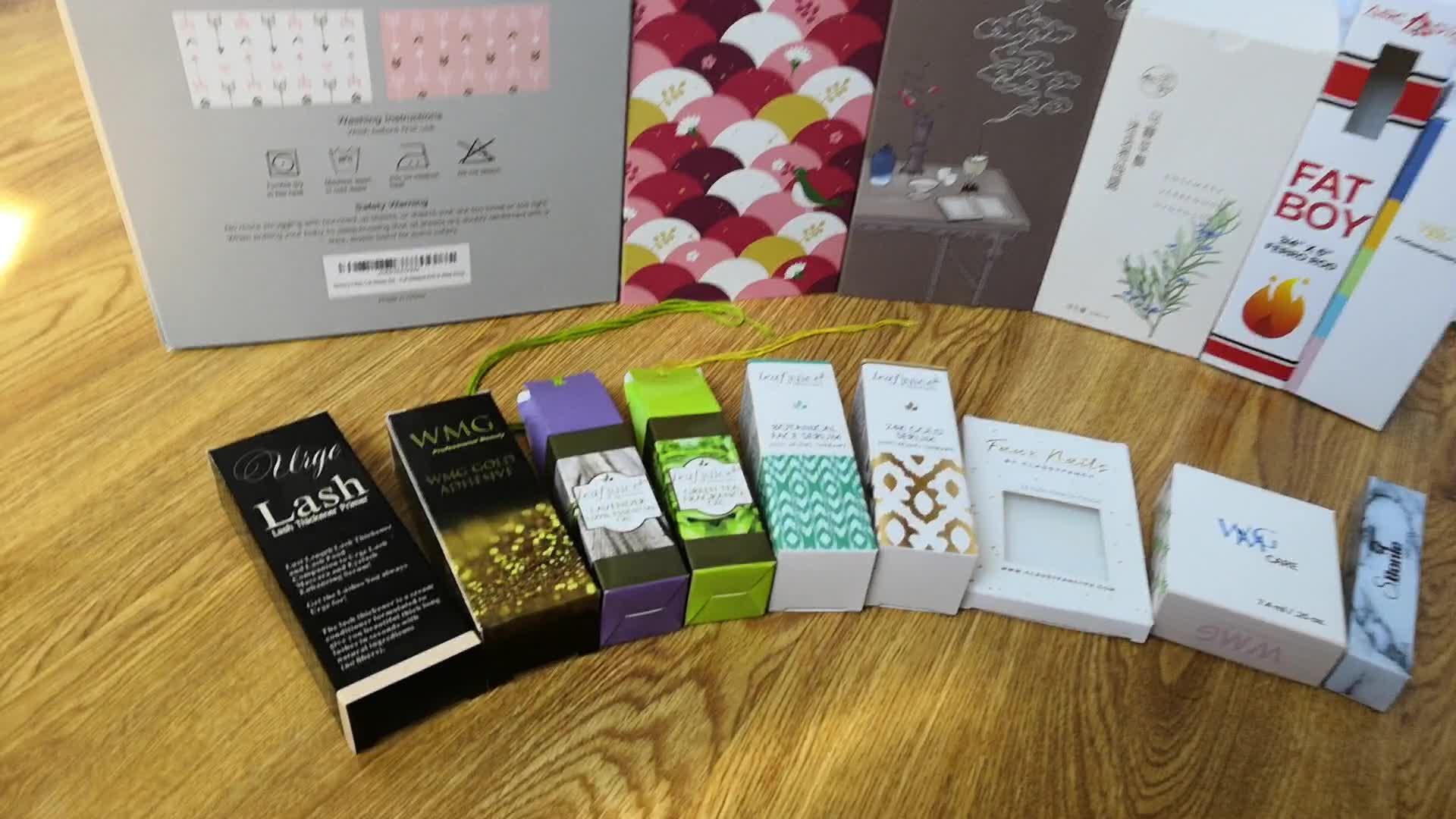 SP-10 Kleurrijke afdrukken wit kraft kleine vierkante kinderen snoep geschenkdoos verjaardag huwelijksgeschenken voor gasten candy box