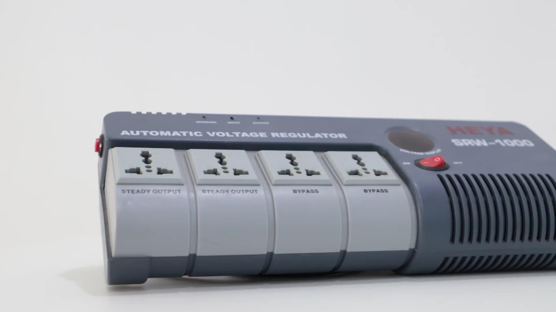 SRW Hot Jual Tinggi Keamanan Otomatis Ac Regulator Tegangan