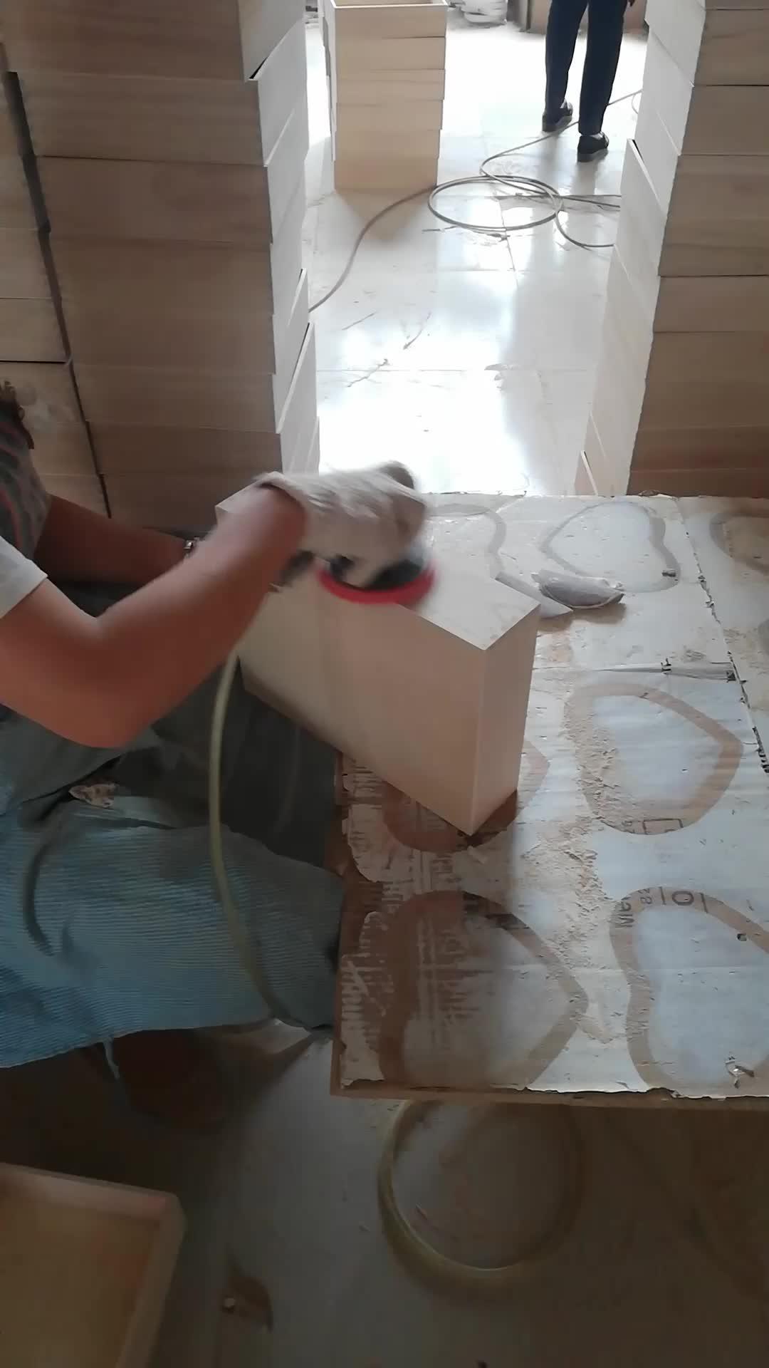 Grenen multiplex houten geschenkdoos met schuifdeksel