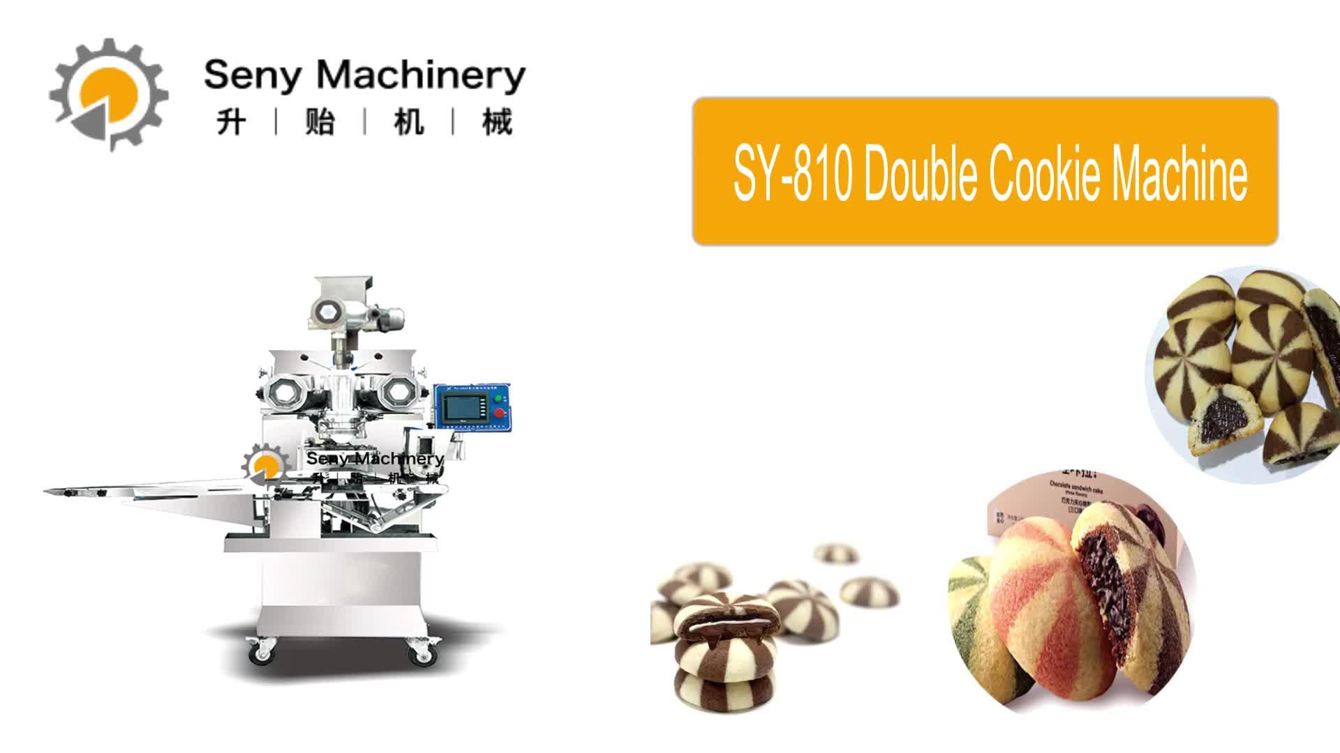 Goede Kwaliteit Promotionele Chocolade Gevulde Koekjes Making Machine