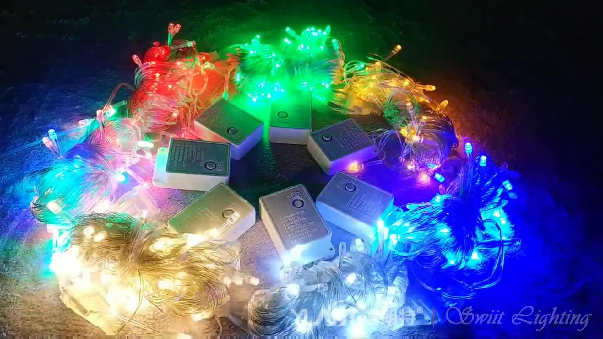 경쟁력있는 DD7585 크리스마스 장식 쌀 요정 10 m 100 led 문자열 빛