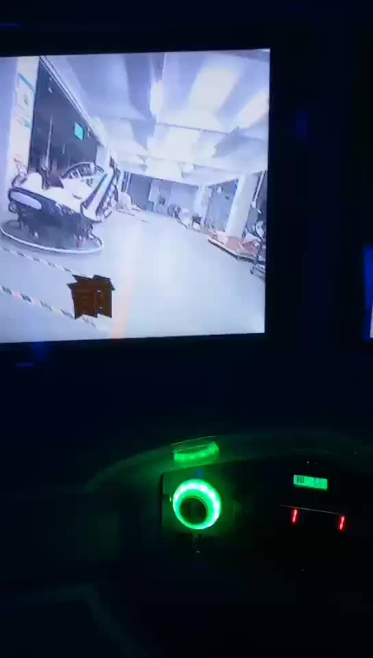 Space Capsule Adventure real experience Virtual Arcade game 360 degree Camera ride car reality Forward and Backward