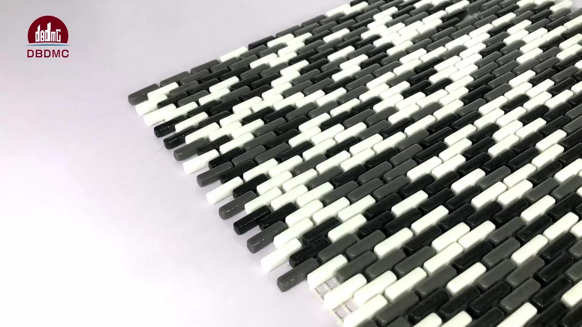 new design product glass mosaic tile Irregular cone type