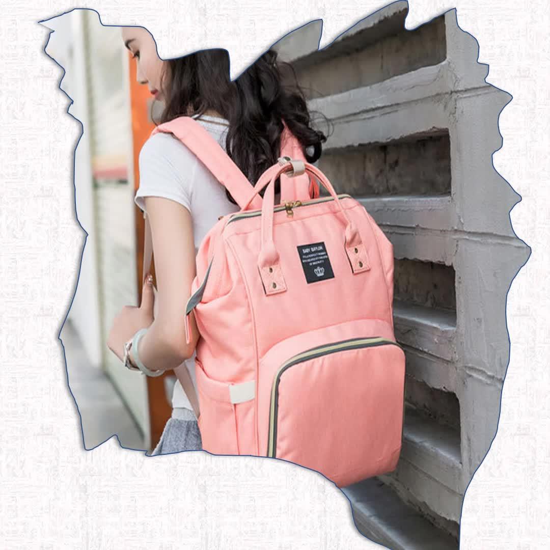 2019 OEM カスタム抗盗難防水旅行産科ミイラベビーおむつバッグバックパック母親のため