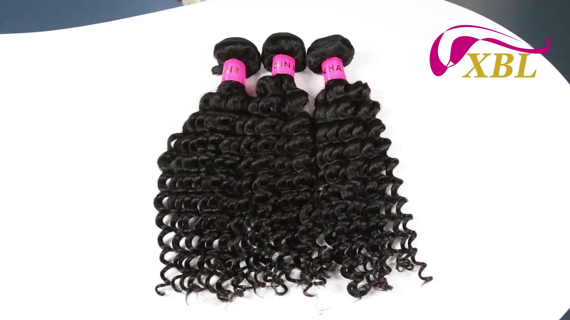 Best Selling Deep Wave Human Hair Weave Bundle 1/3 Piece 10-26 Inch Natural Black Human Hair Extension Free Shipping