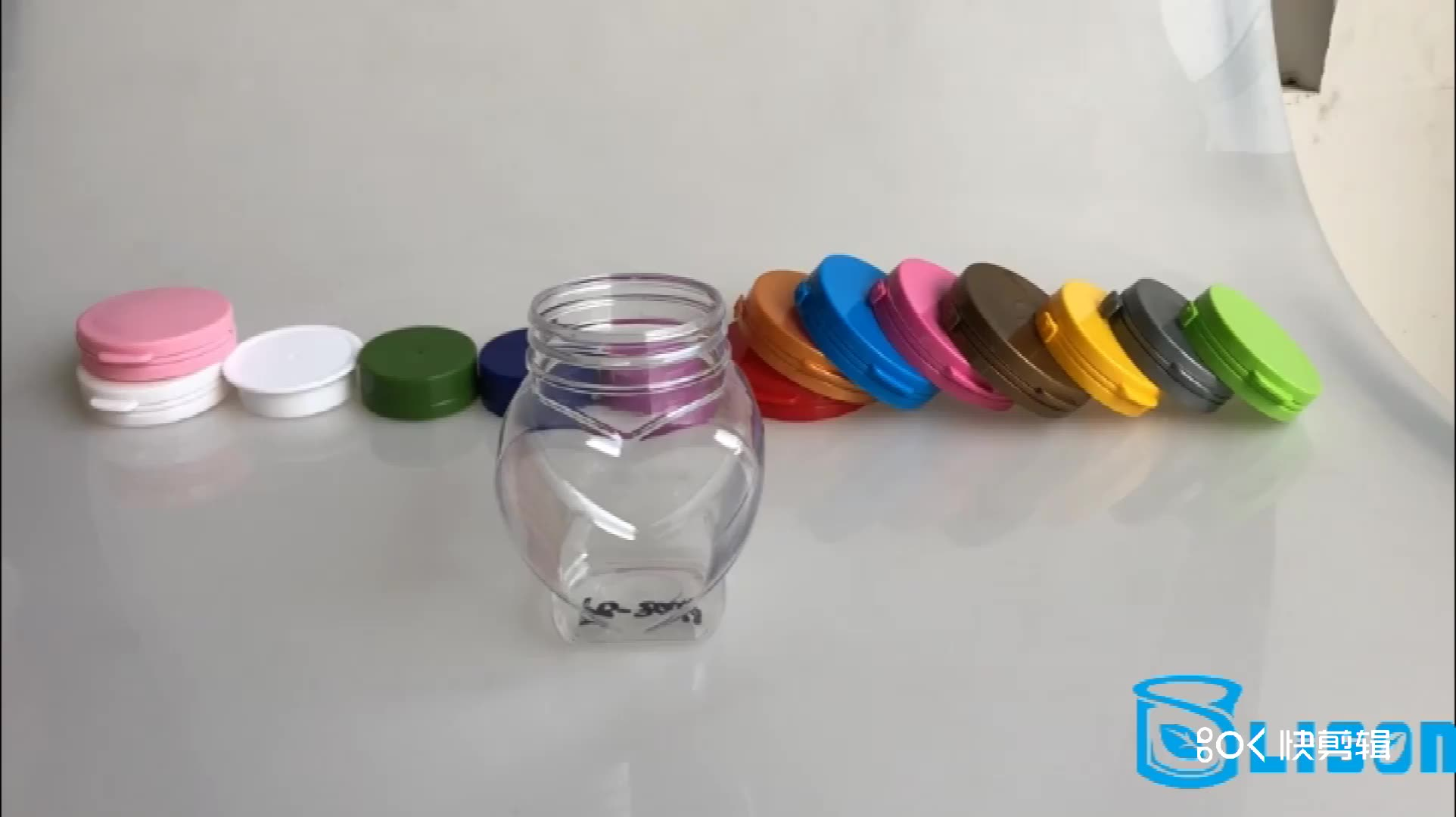 200 ml Platz Food Grade PET Kunststoff Honig Jar
