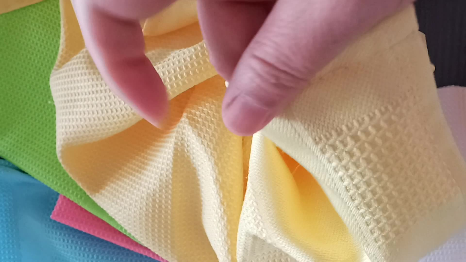Factory Price Wholesale kitchen  Tea Towel 40x70cm Microfiber DISH CLOTHS