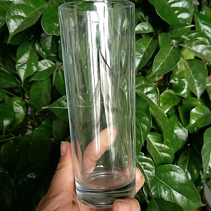 Impression personnalisée transparente potable verrerie verre highball d'anhui verrerie usine vasos de vidrio