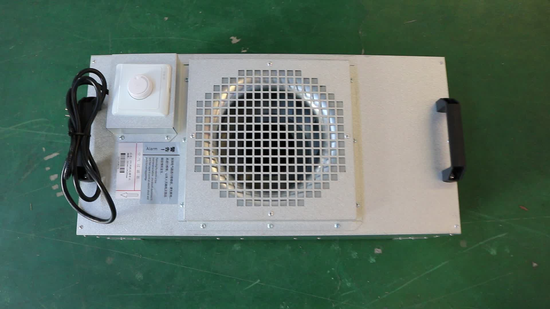 Air Handling FFU Fan Filter Unit with Hepa Filter