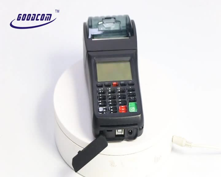 GT6000SW Portable Handheld Wilress Thermal Printer for online ordering and takeaway popular used in Pizza Shop