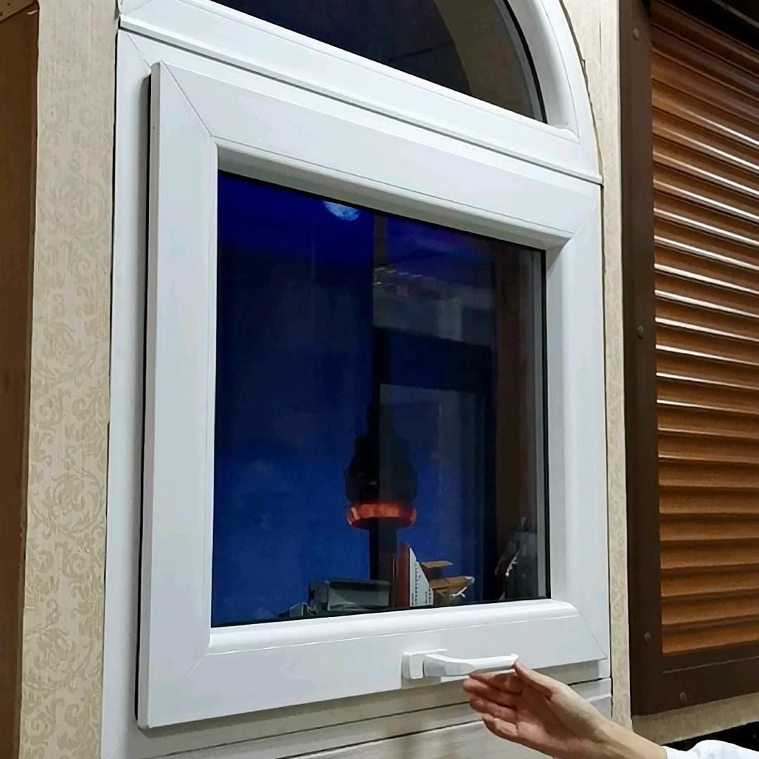 Top accroché fenêtre de toit et de fenêtre en aluminium prix en inde