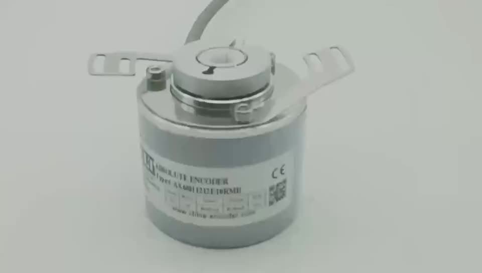 CALT 60mm Blind hollow Multi turns SSI output absolute rotary encoder