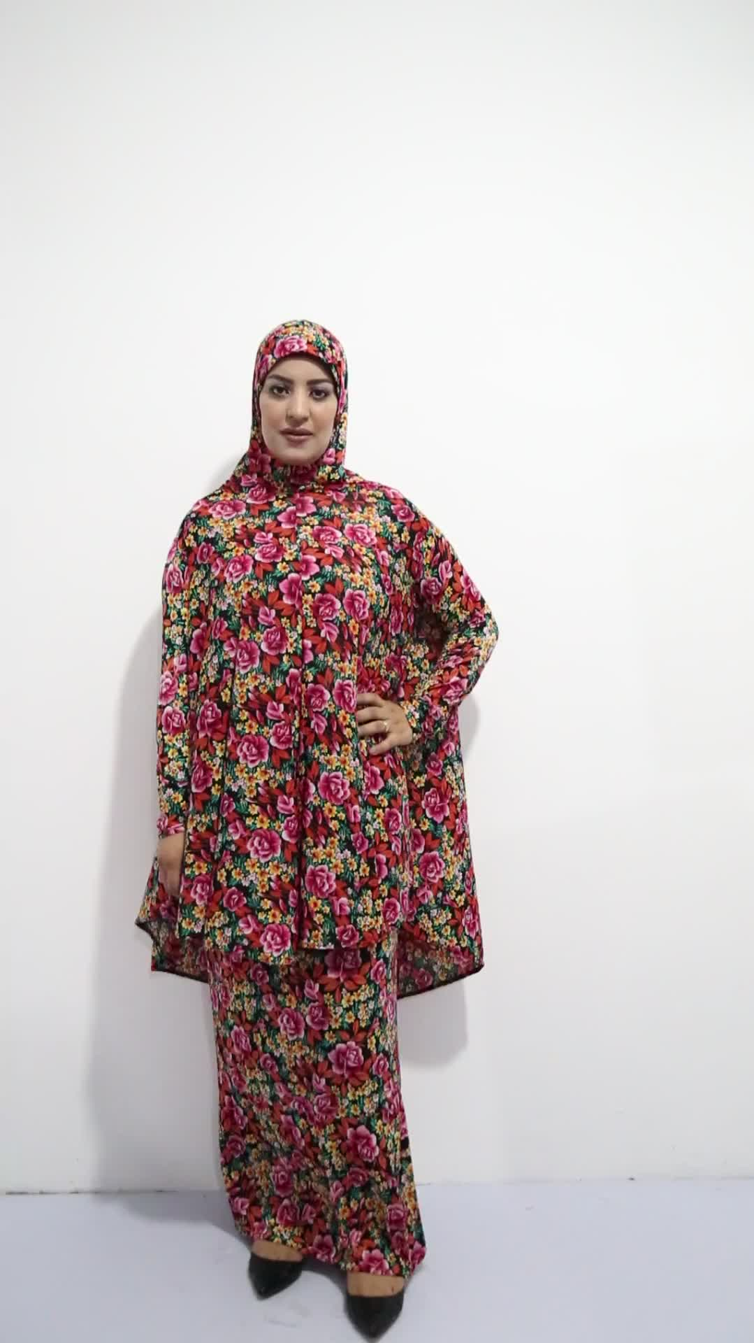 Commercio All'ingrosso di Abbigliamento in Cotone di Modo Burqa islamico Abaya per Le Donne