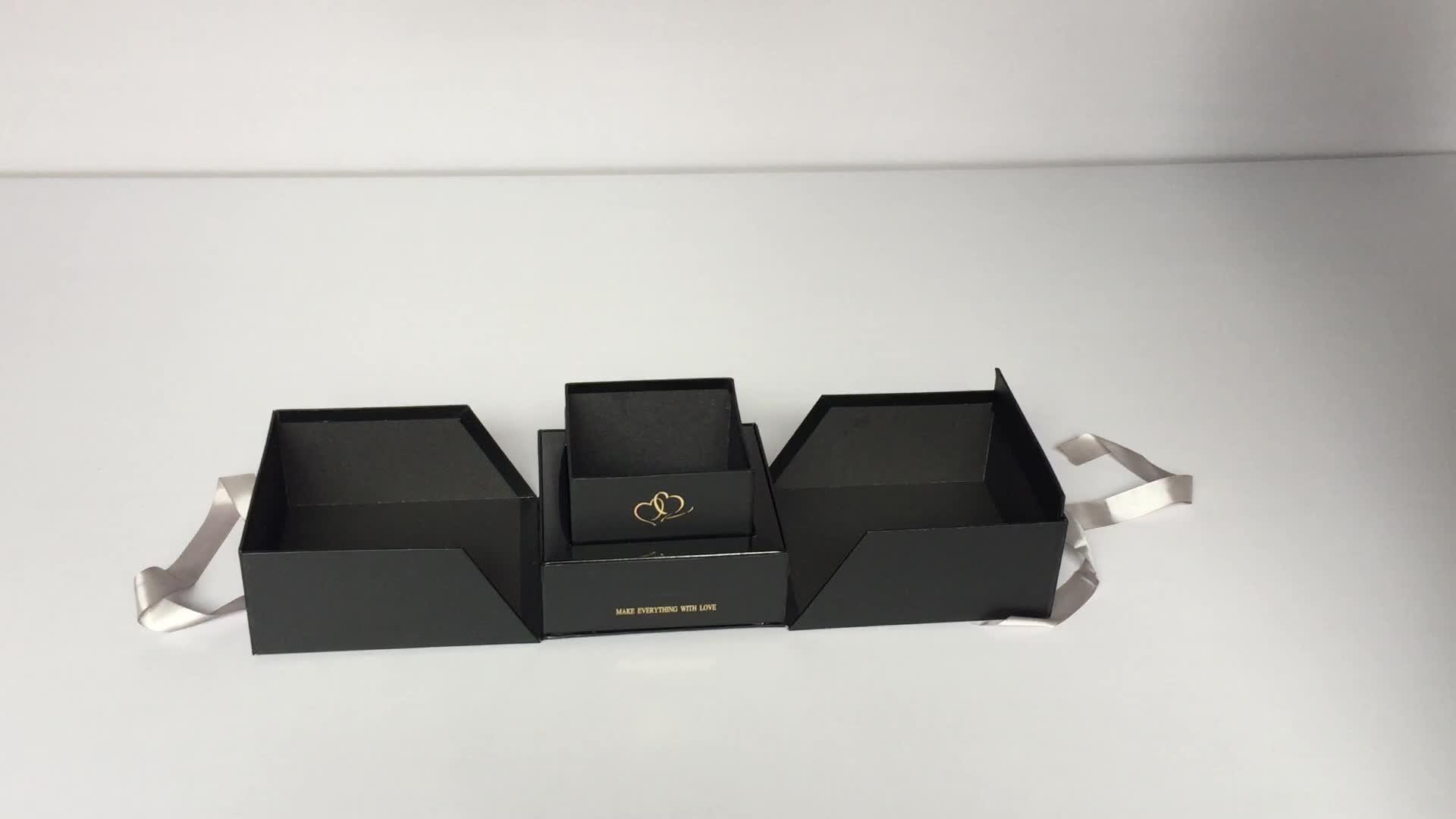 Su misura di disegno di stampa di cartone regalo di fiore scatola di imballaggio per fiori di rosa