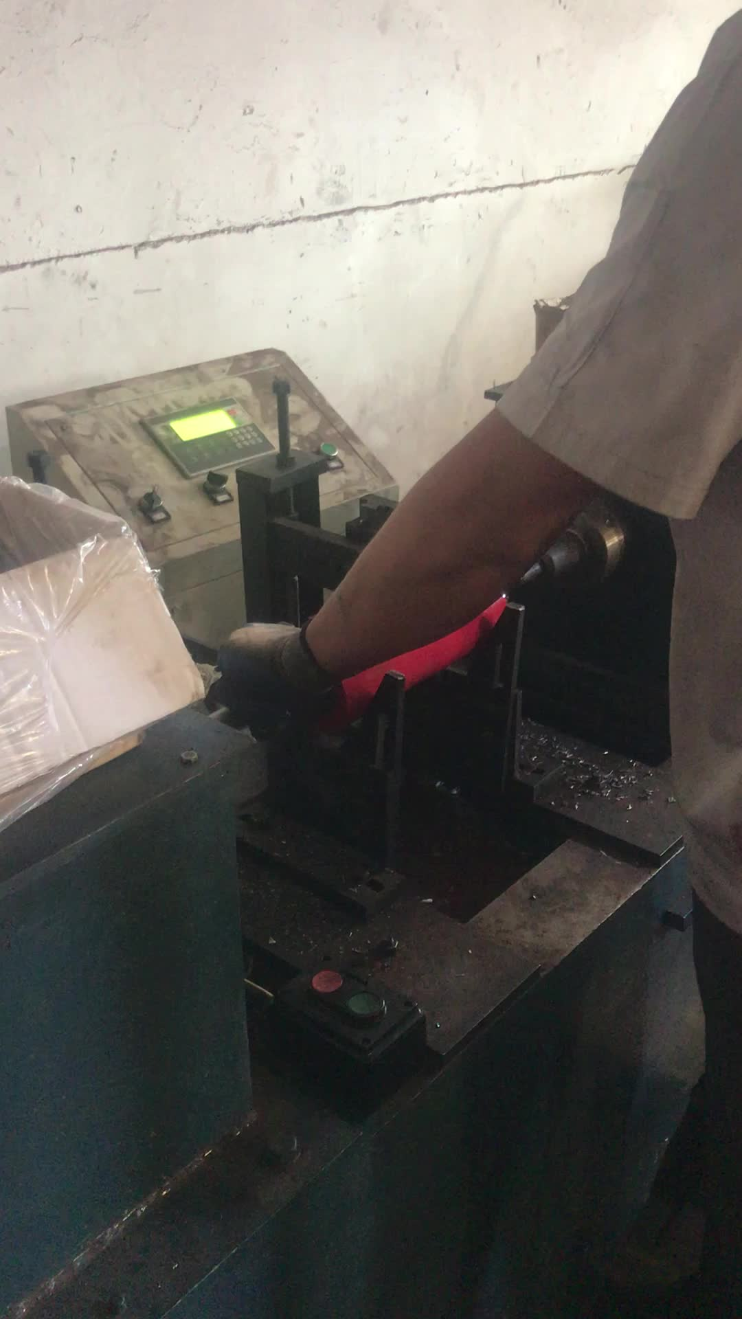 Industrial pesado de acero ranurado de rodillos en cintas transportadoras/portador de rodillos para transportadores